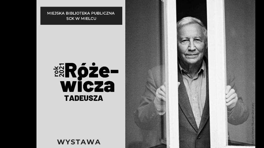 Wystawa - Tadeusz Różewicz